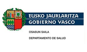 Gobierno Vasco departamento salud